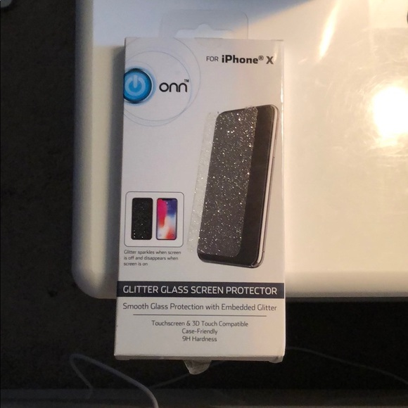 differently c56c2 1cd81 Glitter Glass Screen Protector NWT
